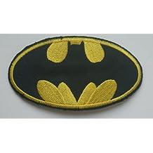 Galactic Spark - Parche para la ropa bordado de Batman (95 x 45 mm)