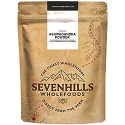 Sevenhills Wholefoods Poudre D'Ashwagandha Bio 500g