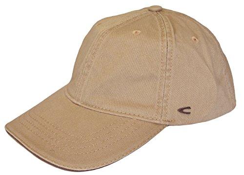 Traditionelle Baseball (camel active Herren Basecap Mütze 6-Panel-Cap Base Cap Kappe Baseball Cap div. Farben (L (58-60), beige))