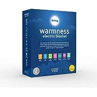 Bielay Warmness Electric Blanket Double, Underblanket, Digital Control with 3 Heat Settings