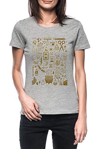 Grau T-Shirt Kurzarm Women's Grey T-Shirt ()