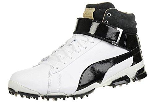 Puma Titantour Ignite HI TOP SE Men Golfschuhe Golf black/white leather 189897 01