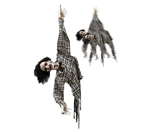 viving Kostüme viving costumes203702hängen Zombie mit Bewegung/Licht und Sound (70x 120cm)