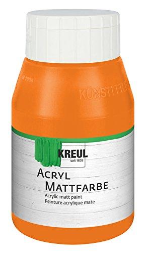 kreul-75904-colore-acrilico-opaco-flacone-da-500-ml-colore-arancione