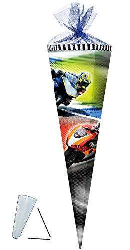 """Schultüte - """" Motorradrennen / Motorrad """" - 35 cm -, gebraucht gebraucht kaufen  Wird an jeden Ort in Deutschland"""