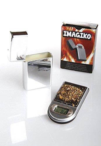 Balance de Poche Design Briquet | Imagiko® ► Maxi 200g Précision 0.01g