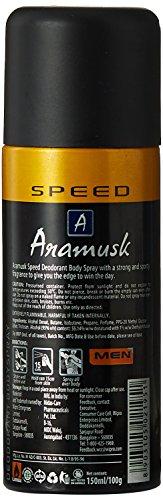 Aramusk Deo for Men, 150ml, Speed