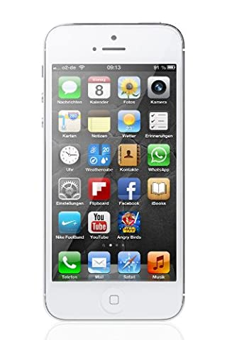 Apple iPhone 5 Smartphone (4 Zoll (10,2 cm) Touch-Display, 16 GB Speicher, iOS 6) weiß