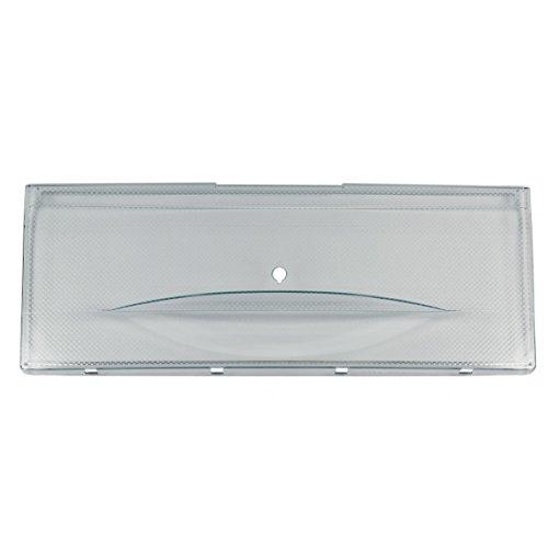 ORIGINAL Miele 7335450 Blende Abdeckung Front Tür Schublade Gemüseschale Kühlfach Kühlschublade Behälter Schale Fach Box Korb 493x183x28mm vorne Gefrierschrank Kühl-Gefrier-Kombination