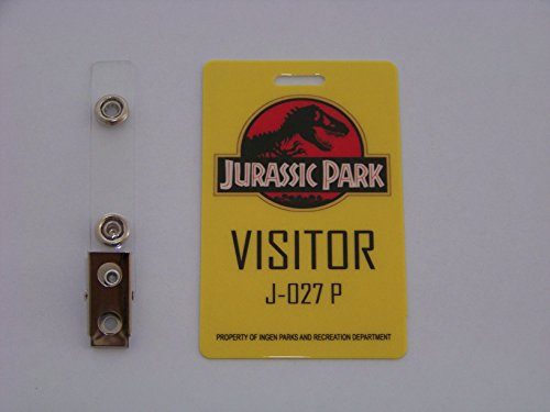 Jurassic Park - Visitor , ID - Karte , ID Badge (Bester Film Inspirierte Kostüme)