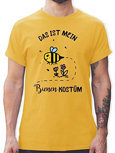 Karneval & Fasching - Das ist Mein Bienen Kostüm - XXL - Gelb - L190 - Tshirt Herren und Männer T-Shirts