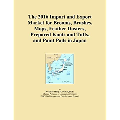 The 2016 Import and Export Market for Brooms, Brushes, Mops, Feather Dusters, Prepared Knots and Tufts, and Paint Pads in Japan