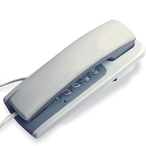Das Telefon Festnetztelefon verwendet keinen Akku. Der Klingelton passt das an der Wand montierte Telefon an. Zwei Farben sind optional.