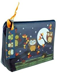 Santoro Eclectic-Small Coated Accessory Case 'Owls Design by Gorjuss