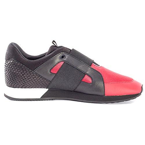 Cruyff Rapid 216 Hommes Trainers Red Black
