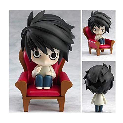 Q Version Ton Menschen Death Note Mini Modell Kann Gesicht Puppe Ornamente Spiel Cartoon Charakter Spielzeug Geschenke Handwerk Urlaub Geschenke (10 CM)