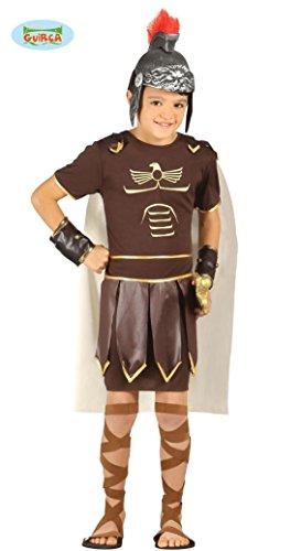 Guirca Costume vestito soldato romano gladiatore carnevale bambino 8254_ 5-6 anni