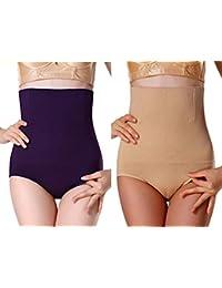0b4c2b040a249 Barshini Women High Waist Slimming Tummy Control Panties Knicker Briefs  Comfortable Seamless Shapewear Underwear Magic Bodyshaper