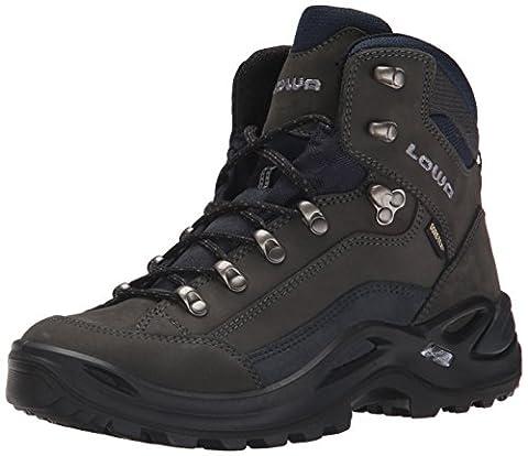 Lowa Women's Renegade GTX Mid Hiking Boot,Dark Grey/ Navy,7 M US