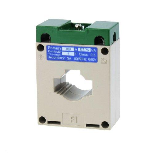 sourcingmap® 0,66KV 50/60Hz 0,5 Zubehör 100/5 Stromwandler Transformer CT