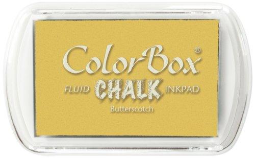 USA Produkt - ColorBox Fluid Chalk Stempelkissen-Butterscotch