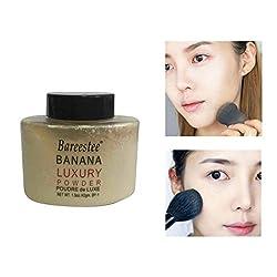 1pcs Beauty Banana Powder Bottle Luxury Powder Poudre de Luxe Banana Loose Foundation Beauty Makeup Highlighter Makeup H7