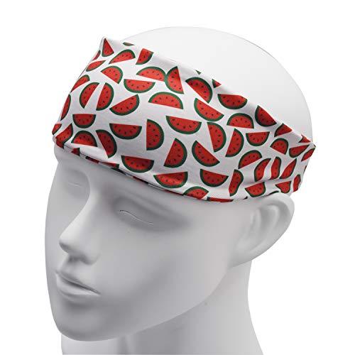 Wassermelone Bekleidung (LParkin Ananas-Banananas-Bananana-Wassermelonen-Haarband für Erwachsene - breite Haarbänder - Geschenk für die Frau - Erwachsenen-Haarband - Beste Haarbänder, Wassermelone, Standard)