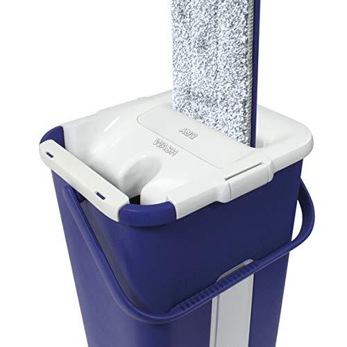 best direct  autoclean mop original come visto in tv set di mocio & secchio a 2 camere autopulente & tessuto in microfibra per pulizia casa finestre doccia bagno battiscopa (autoclean mop)