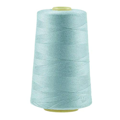 maDDma 4572m Overlockgarn Nähgarn Polyester Overlock Garn, wähle aus 400 Farben, Farbe:A816 helles blaugrau
