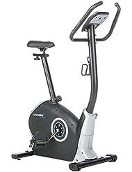 skandika CardioBike Zelos - Vélo d'appartement ergomètre - Max.150 kg - 12 Programmes - 32 Niveaux de résistance - Masse d'inertie 12 Kg