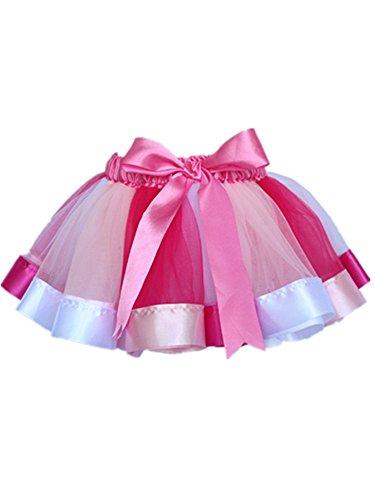 ider Tutus Tutu Rock Tütü Petticoat Minikleid Geschenk Dress Partykleid Tüllrock Tanzrock Ballettrock Ballettkleid Spitzenkleid Swing kleid in verschiedenen Farben 0-8 Jahre (Süße Leichte Mädchen Halloween-kostüme)