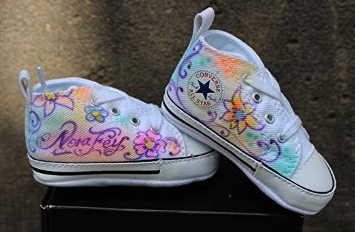 Airbrush Baby Converse Chucks