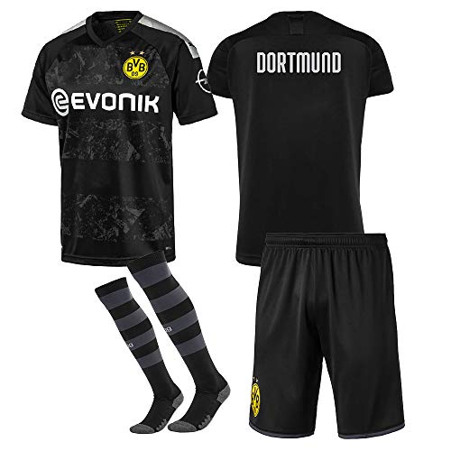 Bestcomcl 2018-2019/2019-2020 UEFA Personalisiertes Fussball Trikots für Kinder/Erwachsene/Herren/Damen, Personalisierte Fußball T-Shirt & Shorts Benutzerdefinierten Namen + Nummer(Enthält Socken)