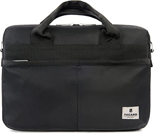 Tucano Shine Slim Nylon Tasche für 33 cm (13 Zoll) Laptop schwarz