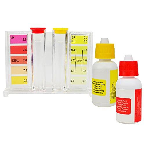 Wasser pH-Tester Qualität Pool CL2 Test Kit Chlor HydroTools