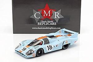 CMR SBC021 - Coche en Miniatura de colección, Color Blanco y Azul