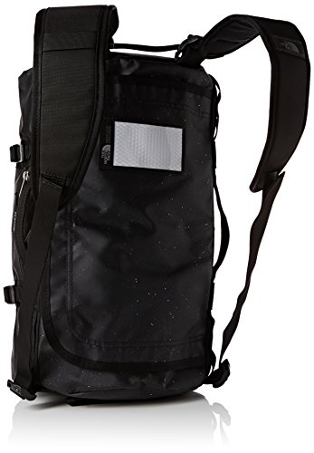 North Face Base Camp Duffel Backpack – Black/TNF Black Sparkles, One Size/Large