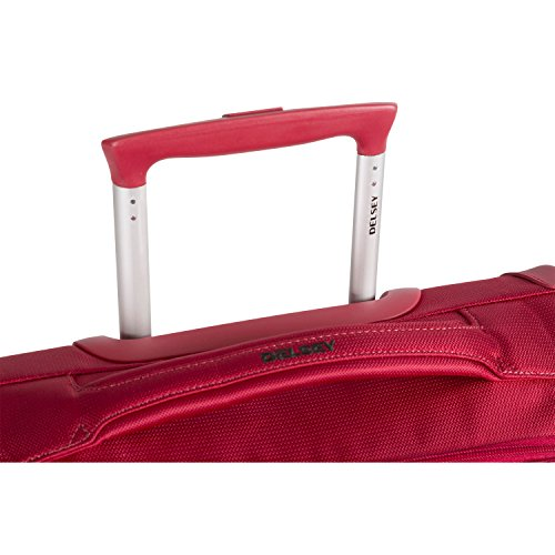 DELSEY AIR ADVENTURE SOFT2 Koffer, 54 cm, 42 liters, Rot (Rouge) - 4