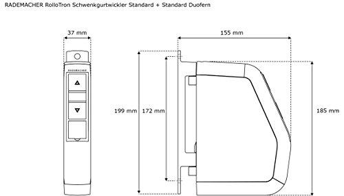 RADEMACHER RolloTron Schwenkgurtwickler Standard Minigurt