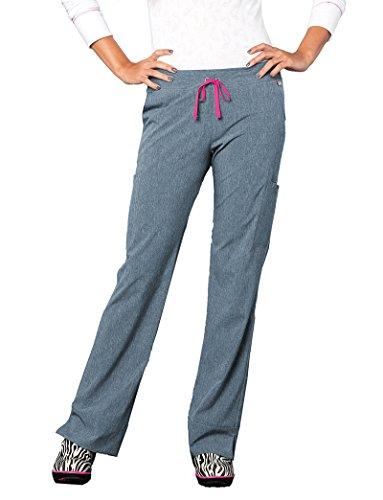Smitten Women's Hottie Flare Leg Scrub Pant - Landau Flare Leg Hose