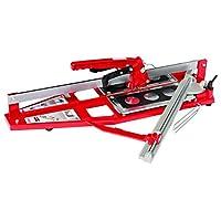 Kristal 35541 Açılı Seramik Kesme Makinesi Kiklop 640 mm, Kırmızı