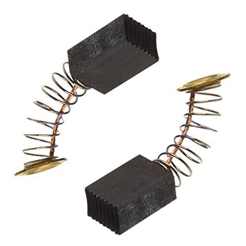spares2go Kohlebürsten Set für Makita Teller Tischler + 3-1/10,2cm Hobelmesser Kit 6mm x 9mm x 12mm (2Stück) -