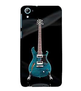99Sublimation Electronic Guitar 3D Hard Polycarbonate Back Case Cover for HTC Desire 826 Dual Sim