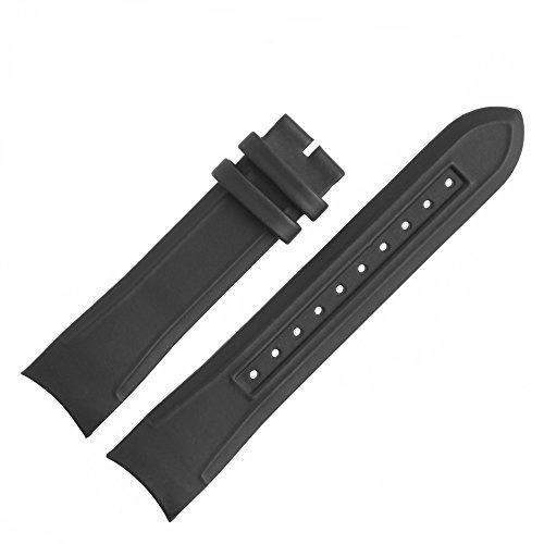 Hugo Boss Uhrenarmband 22mm Kunststoff Schwarz - Uhrband 659302446