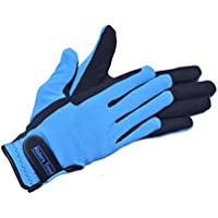 Riders Trend Unisex's Breathable Winter Horse Amara/Spandex/Thinsulate Lined Equestrian Riding Gloves