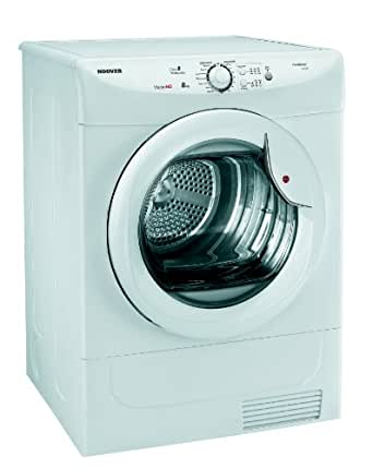 Hoover VHC681B-80 8kg Capacity Condenser Tumble Dryer With Sensor Dry, White