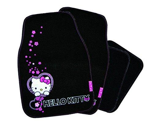 Auto Matte Hello Kitty Tappetini Per Auto Universale Auto Zerbino Grund colore nero