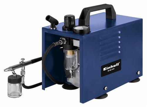 Einhell BT-AB 19/4 Kit Air Brush Kompressor-Set