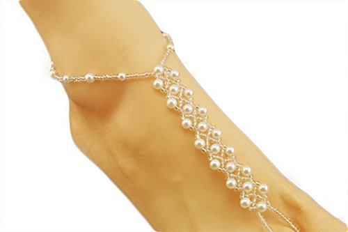 SaySure - jewelry Sweet pearl even refers to elastic ankles b10