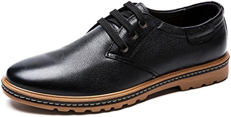 Beiläufige Schuhe der Männer/Lace niedrige Schuhe/Runde Schuhe